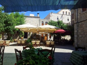mastix mesta markt restaurant chios