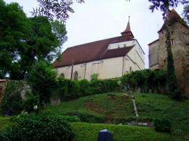 Die Bergkirche ist eine der evangelischen Kirchen. Deutsch wurde in Sighisoara bis 1930 noch vom größten Teil der lokalen Bevölkerung gesprochen. Heute sind nur noch 2 Prozent Siebenbürger Sachsen.