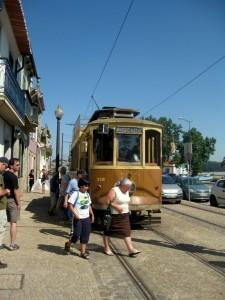 Straßenbahnlinie 1 in Porto