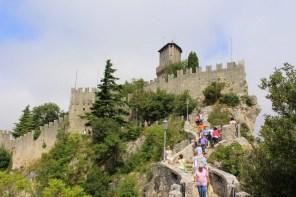 Touristen San Marino