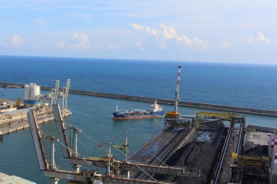 Hafen Genua Leuchtturm Ausblick