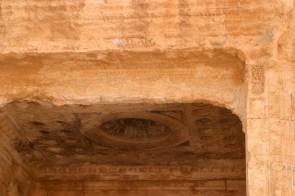 Die Detailarbeit an den Fresken in Palmyra ist erstaunlich.