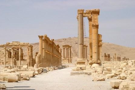 Prachtstraße Palmyra