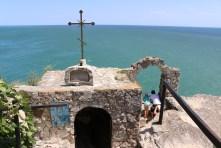 Die Kirche am Kap Kaliakra bietet einen schönen Ausblick auf das Schwarze Meer.