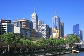 skyline melbourne australien