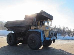 LKW Sibirien Rohstoffe