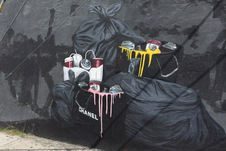 In Wynwood ist sogar Müll Kunst.