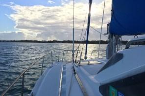 So schön sieht ein Morgen auf einem Boot im Golf von Mexiko aus.