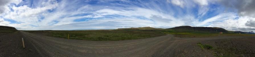 Die Straßen auf dem Weg in die Westfjorde sind einsam.
