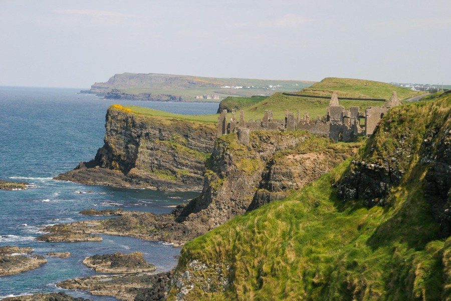 Coast in Northern Ireland, Great Britain.
