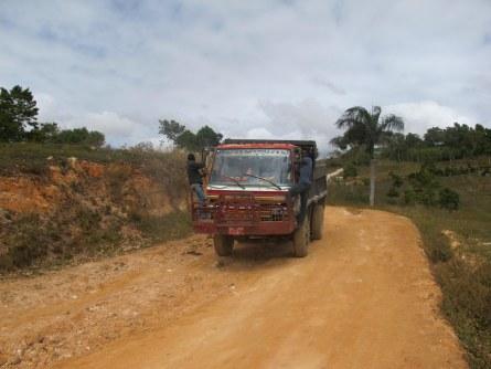 So funktioniert Trampen in Haiti.