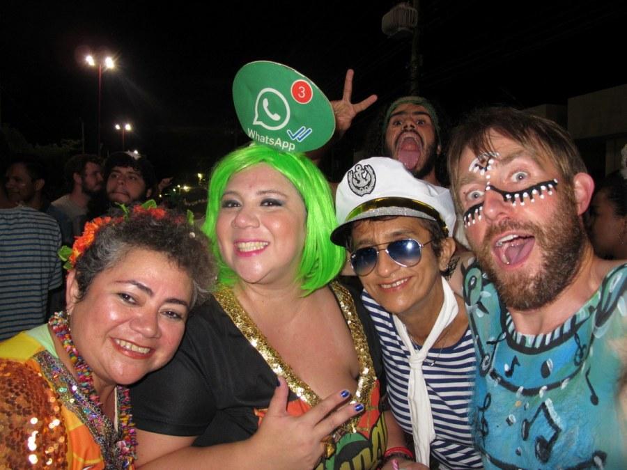 Der Karneval in Brasilien macht Spaß.