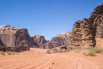 Einer ist spektakulärer als der andere: Die Canyons im Wadi Rum.