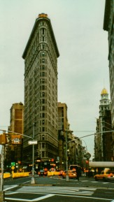 Flat Iron Building New York analog