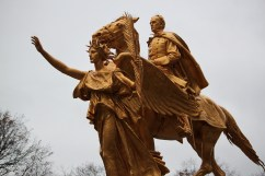 William Tecumseh Sherman welcomes you to Central Park