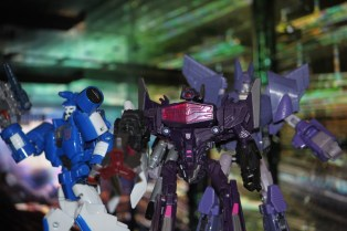 Scourge, Shockwave, and Cyclonus