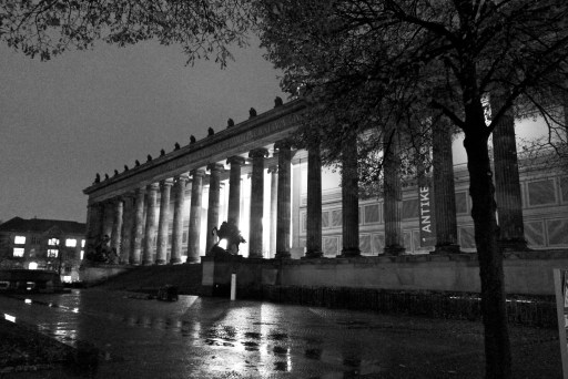Outside of the Altes Museum, Berlin
