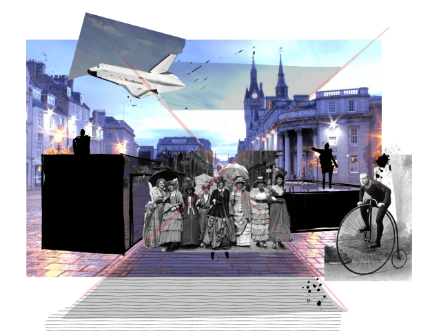 Montage image of Aberdeen Castlegate