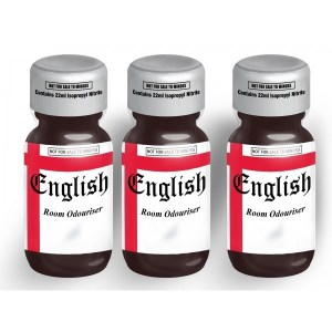 English Extra Strong 25ml 3 Pack