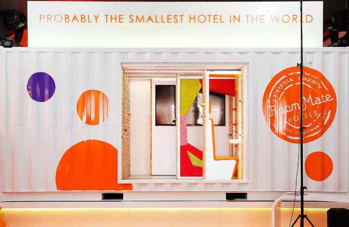 Hotel más pequeño del mundo