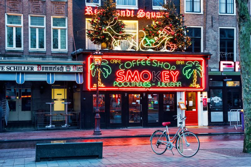 coffeeshop en amsterdam