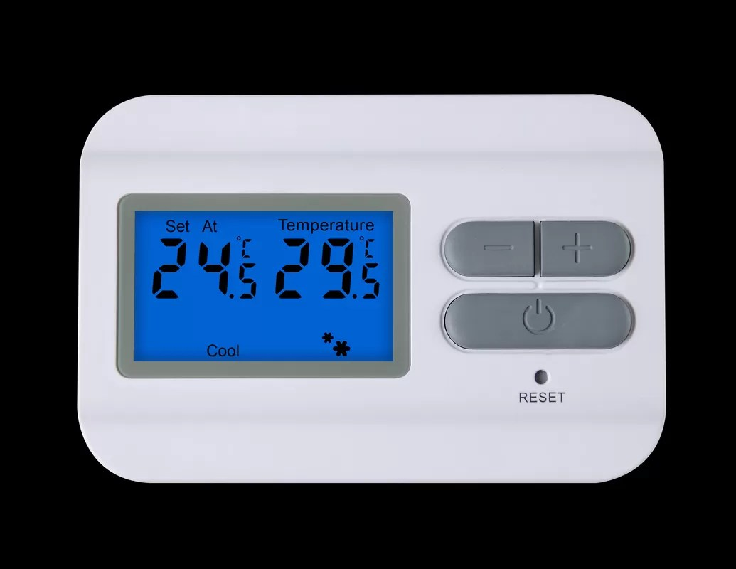 2 Wire Programmable Thermostat , Wiring Electric Heat
