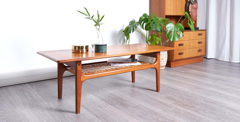table basse rectangulaire danoise trioh 1960 vendue room 30