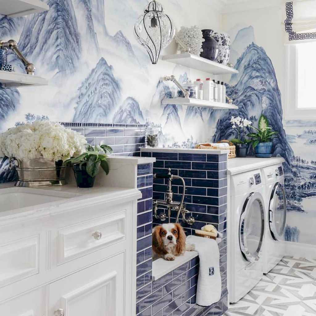 20+ beautiful scandinavian laundry room design ideas for your home (19)