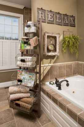 30+ decorative rustic storage projects for your bathroom (32)