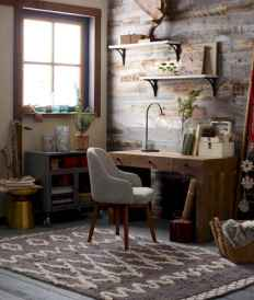 30 home office space with rustic design (16)