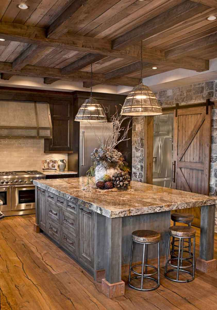 30 interesting rustic kitchen designs (1)