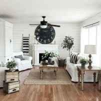 45 amazing rustic farmhouse style living room design ideas (40)