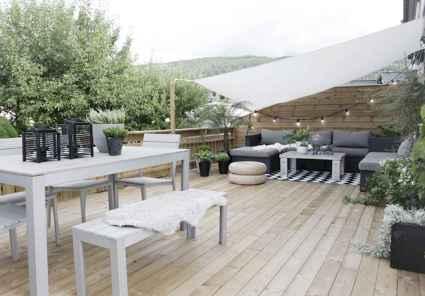 50 beautiful scandinavian backyard landscaping ideas (9)