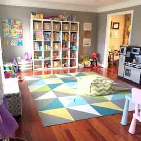 50 ideas for organizing playrooms & kid's spaces (13)