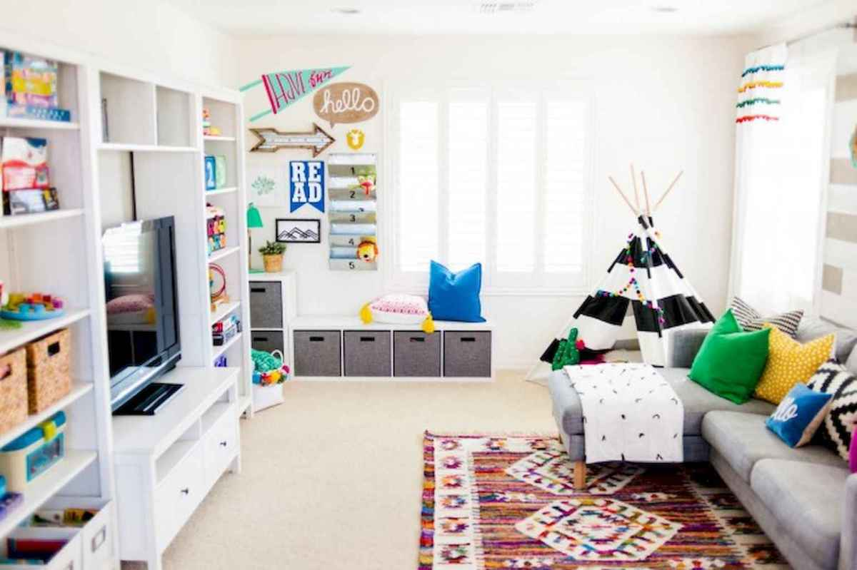 50 ideas for organizing playrooms & kid's spaces (29)