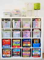 50 ideas for organizing playrooms & kid's spaces (50)