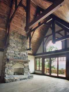 50+ most amazing rustic fireplace designs ever (13)