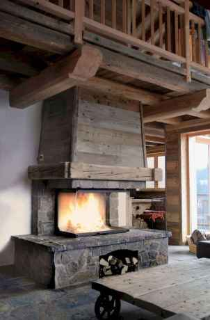 50+ most amazing rustic fireplace designs ever (19)