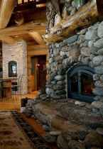 50+ most amazing rustic fireplace designs ever (9)