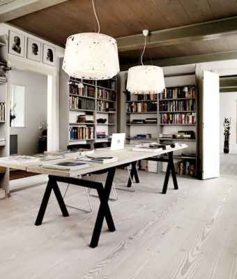50 super scandinavian ideas for your home library (28)