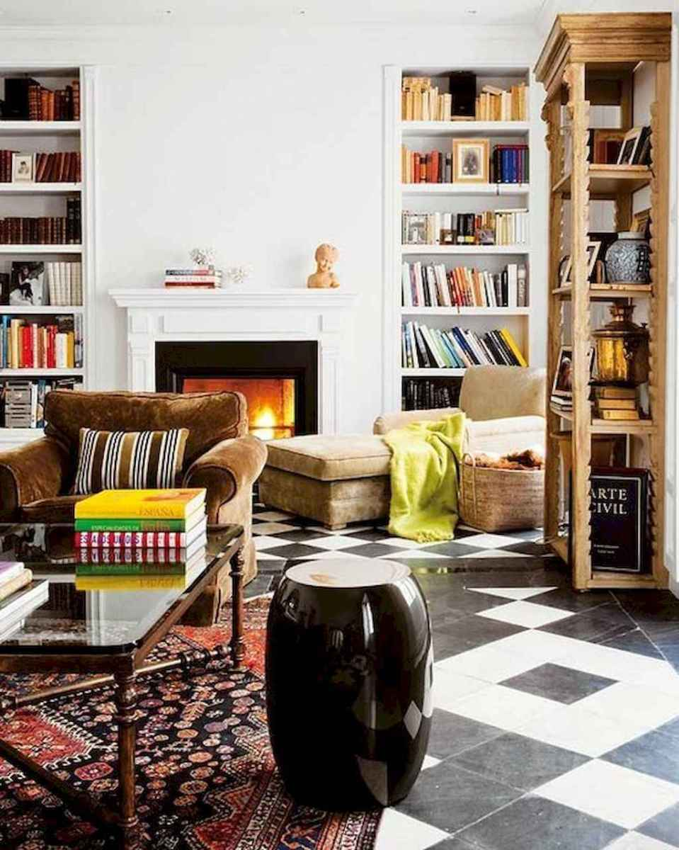 60 amazing eclectic design ideas for your library room (16)