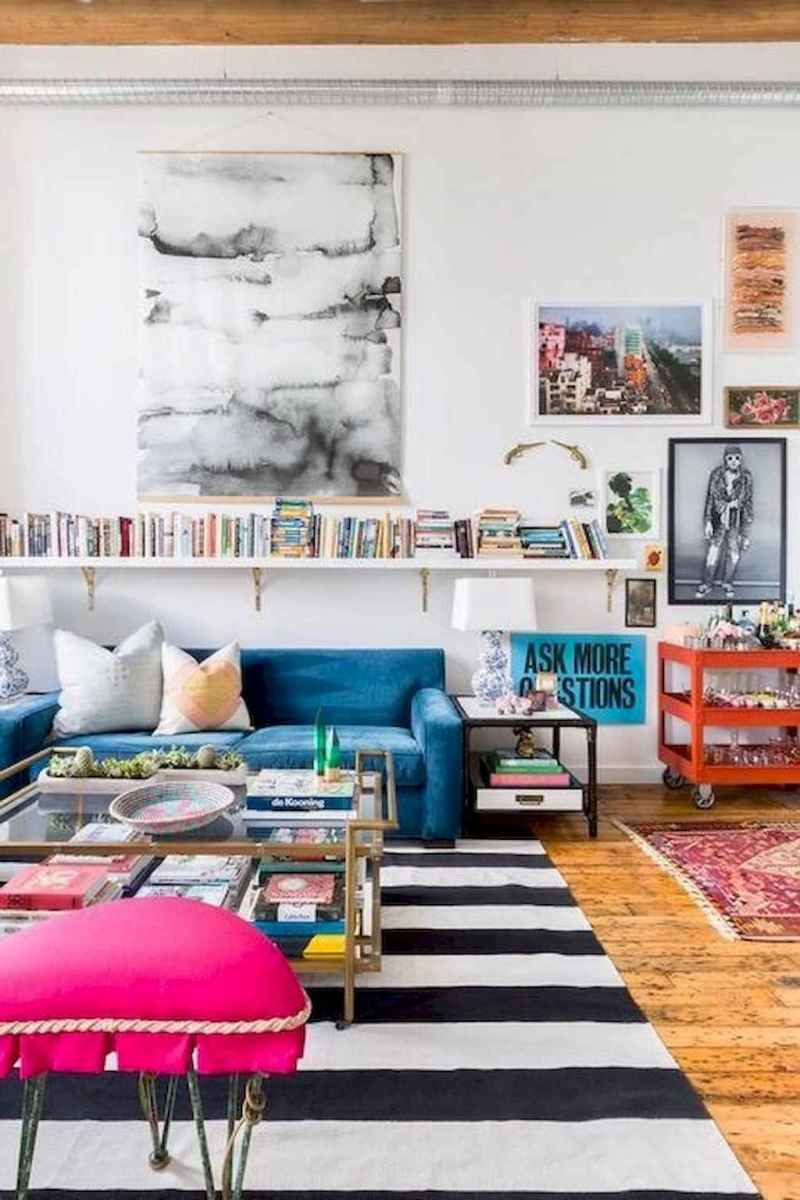 60 amazing eclectic design ideas for your library room (20)