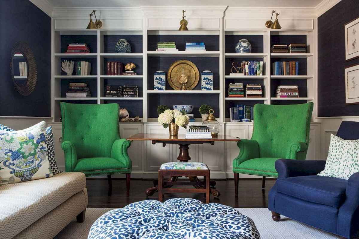 60 amazing eclectic design ideas for your library room (34)