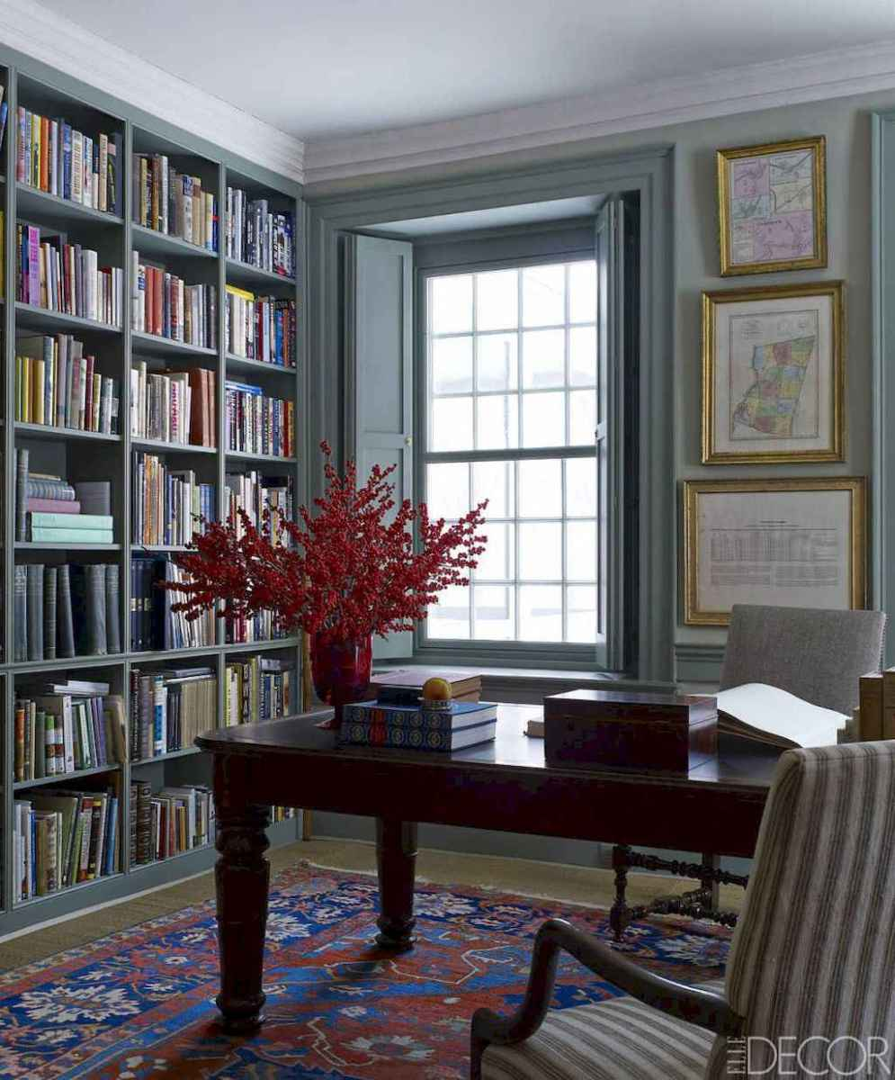 60 amazing eclectic design ideas for your library room (36)