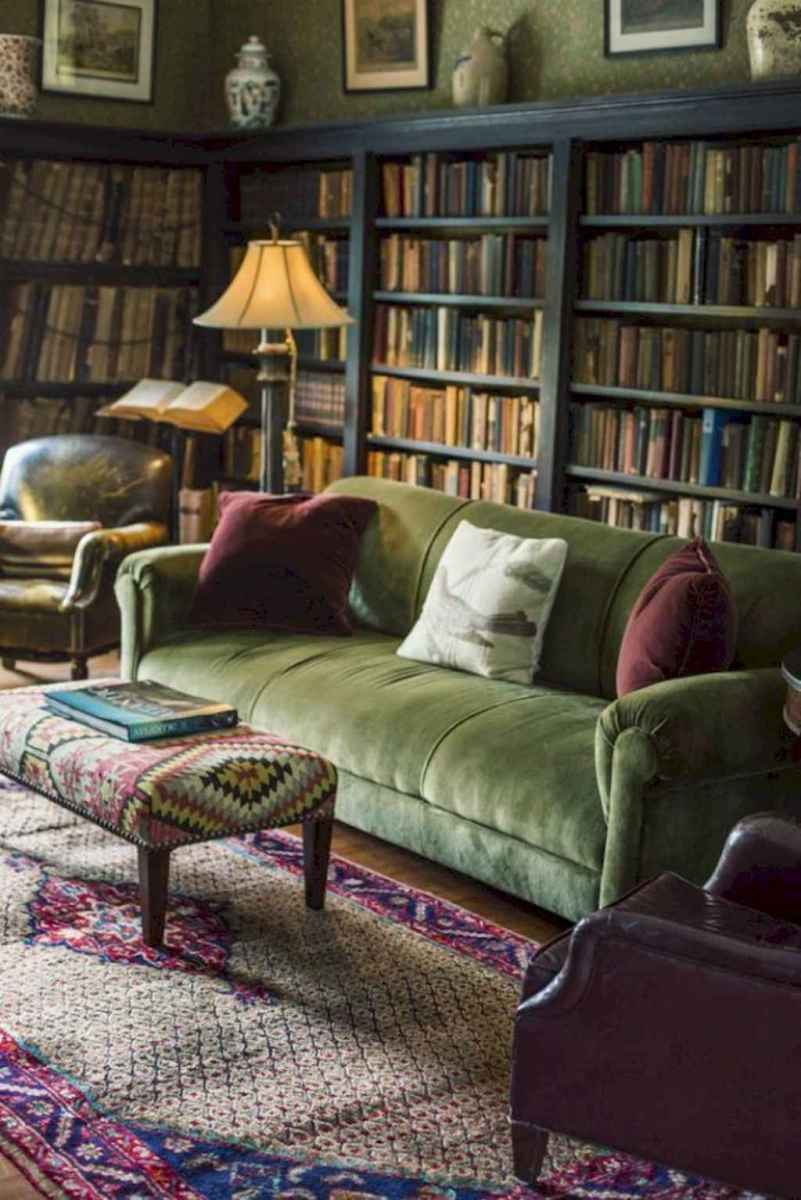 60 amazing eclectic design ideas for your library room (5)