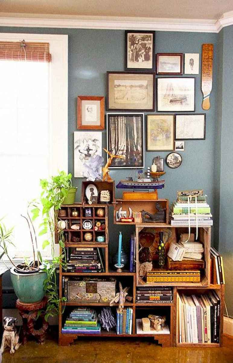 60 amazing eclectic design ideas for your library room (60)