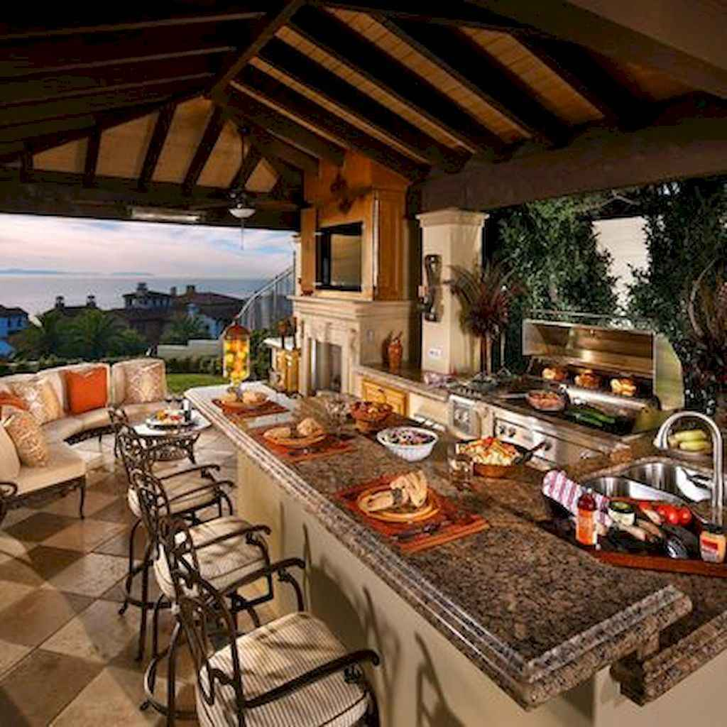 60 amazing outdoor kitchen ideas (25)