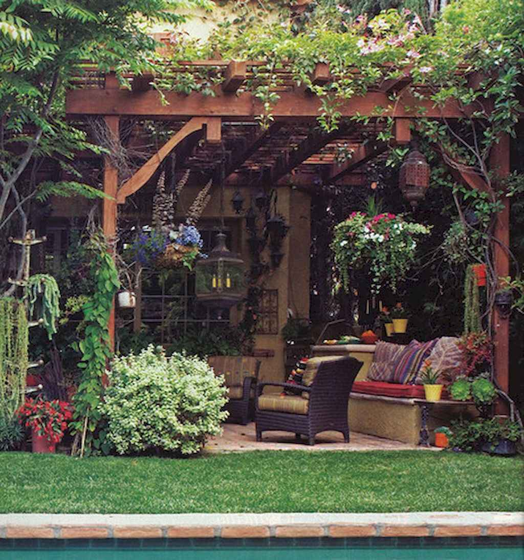 60 awesome eclectic backyard ideas (20)