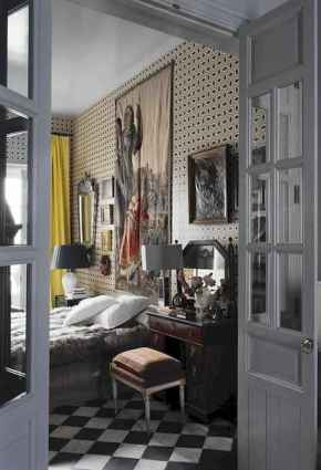 60 beautiful eclectic bedroom decorating ideas (19)