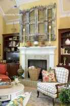 60 beautiful eclectic fireplace decor (27)